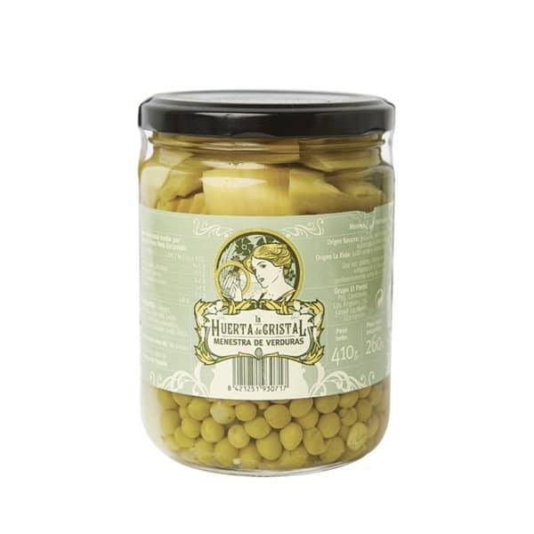 La Huerta de Cristal. Menestra de verduras