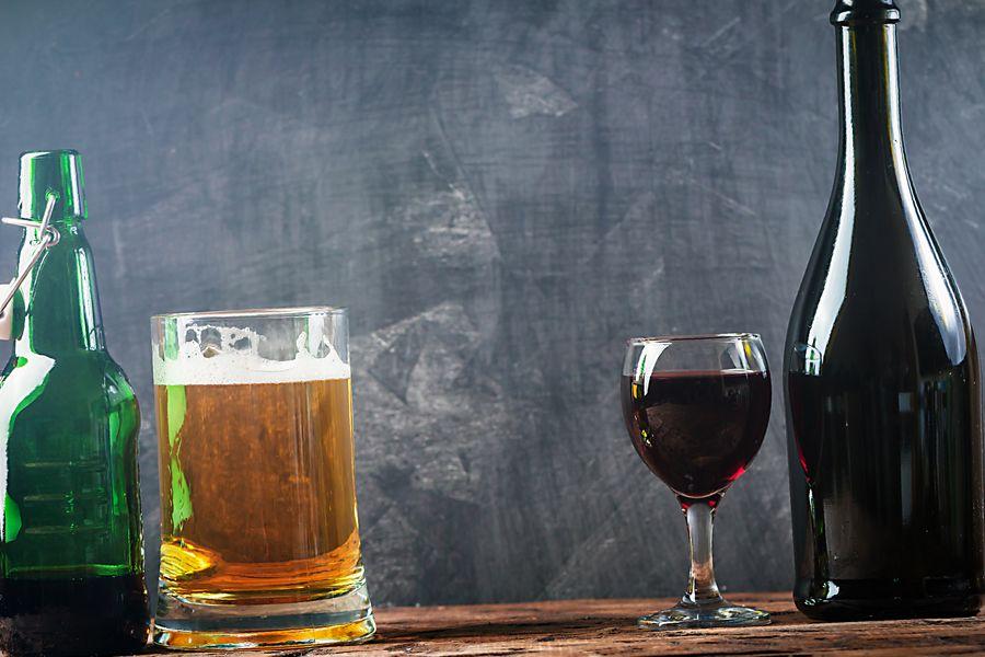 que engorda mas cerveza o vino